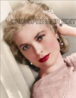 Grace Kelly Colorized by Cspringer