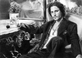 Johnny Depp 3 by Bellchen87