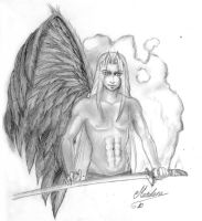 Sephiroth One Winged Angel by soulofsorrow