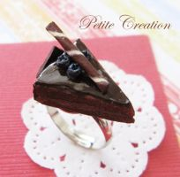 chocolate cake ring 3 by PetiteCreation