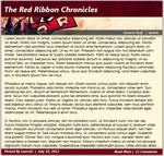 Epiqz - Red Ribbon Chronicles theme (News Post) by tempystdesigns