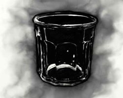 Cloudy glass by polian