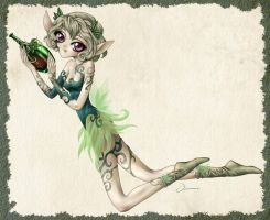 Wine Fairy by Viviane-ch