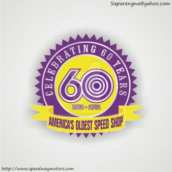 Speedway Motors 60TH Anniversary Logo by iwanbjo