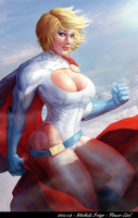 Power Girl by michelefrigo by cerebus873