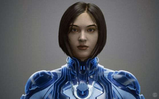 Human Cortana by halo4guest