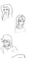 humanized face practice part 1 by Facelessguru