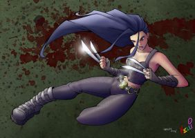 Awesome X-23 Colors by eva1