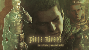 Resident Evil 6 :Piers Nivans wallpaper by N-o-c-t-i-s