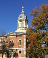 Marshall County Courthouse Oct by DJCandiDout