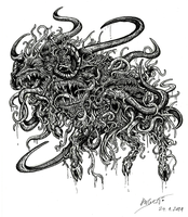 Shub-Niggurath by Barguest