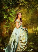A Medieval Beauty by AngeliaArt
