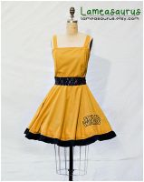 C3P0 retro style dress by Lameasaurus-etsy