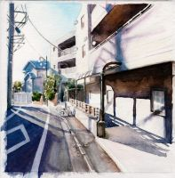 Japanese Street by cathionelle