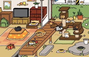 Neko Atsume Screenshot 1/31/2016 by kyokoaurion