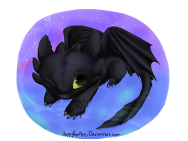 Toothless by BingTatsu