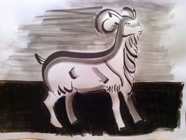India Ink 05 by Zerophim