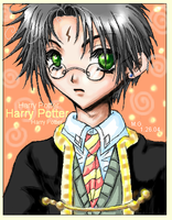 Harry Potter - Oekaki by ProdigyBombay