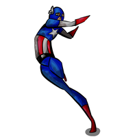 Captain America by captaink1rk