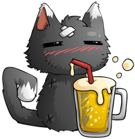 Cat Beer by KupoGames