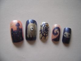 Nail Collection - Spooky by digikijo