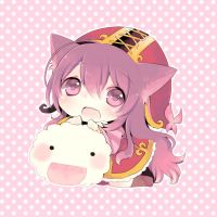 Lulu and Poro by tunako