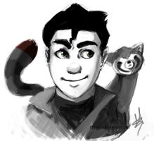 Bolin and Pabu Portrait by ditto9