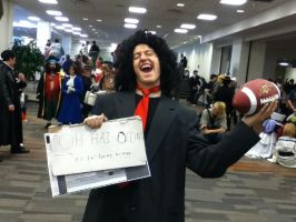 Ohayocon 2012: Tommy Wiseau by BigAl2k6
