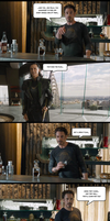 Avengers - Loki vs Tony Stark (SPOILER ENDING!!!) by yourparodies