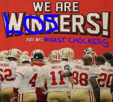 49ers Lose by Stickerz08