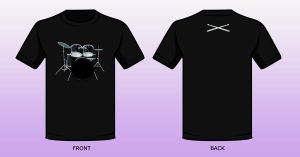 Drummer Shirt by AngelInWutherland