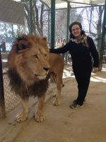 Me with the lion by WalkingMadness
