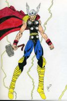 Thor by Chaosbandit