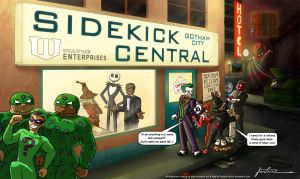 Sidekick Central by Furboz