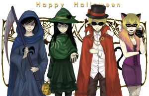 Homestuck: Happy Halloween by TaiyakiDesu