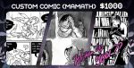 8 Page Comic Commission Available! by Mamath