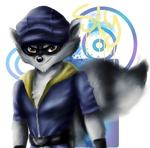 Sly Cooper by LilRedGummie