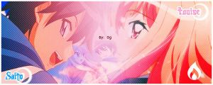 Valentine Theme Saito x Louise by ShiningGirl