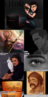 Villainous Sketch Dump by DJCoulz
