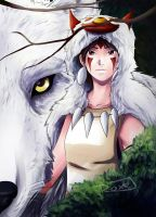 Princess Mononoke by Nami-v