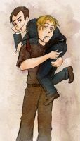 Carry me Sebby by Arkham-Insanity