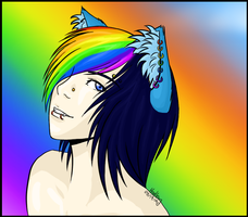 Rainbows are Colourful by C-Hadley