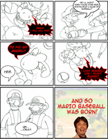 Mario Baseball - Dignity Lost by anotherblazehedgehog