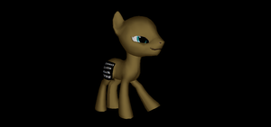 MMD Newcomer HQ Male Earth Pony Base + DL by Valforwing