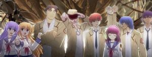 angel beats signature gif by ICrySadness