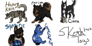 sketch tags example by Nessbeast