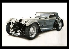 1931 Daimler Double-Six 50 by TsTdesign