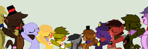 Five Nights At Freddys Collabs by fnafponys