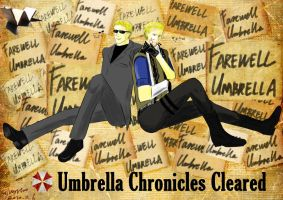 Umbrella Chronicles Cleared by silverstro