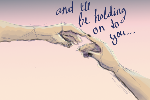 holding on to you by artsy-hamsters
